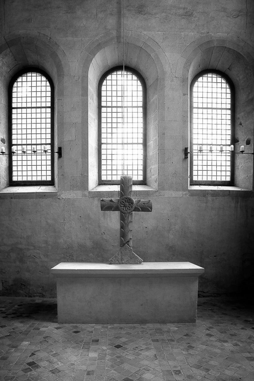 Abtei Eberbach Altar im Chor