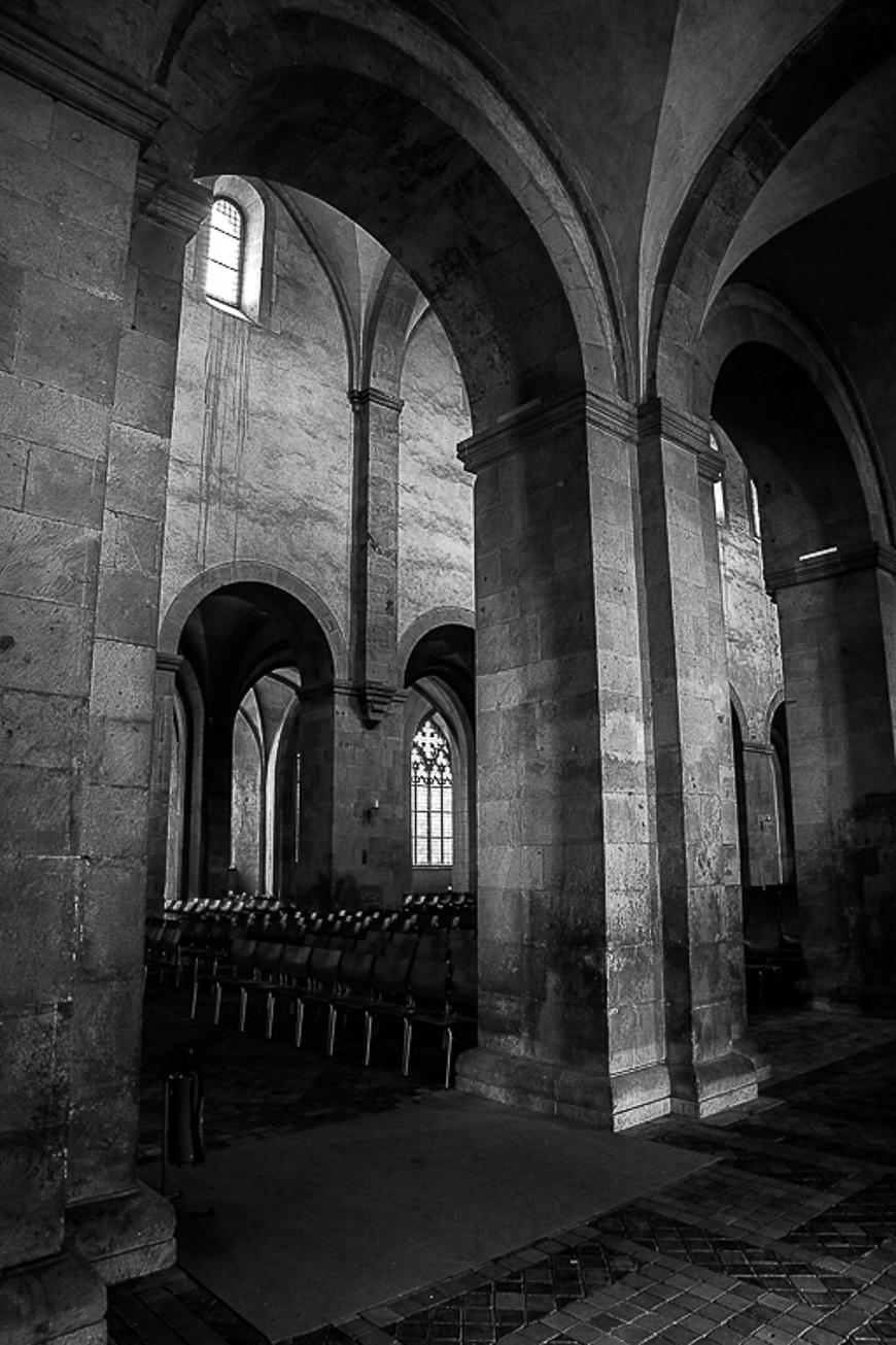 Abtei Eberbach Studie 8