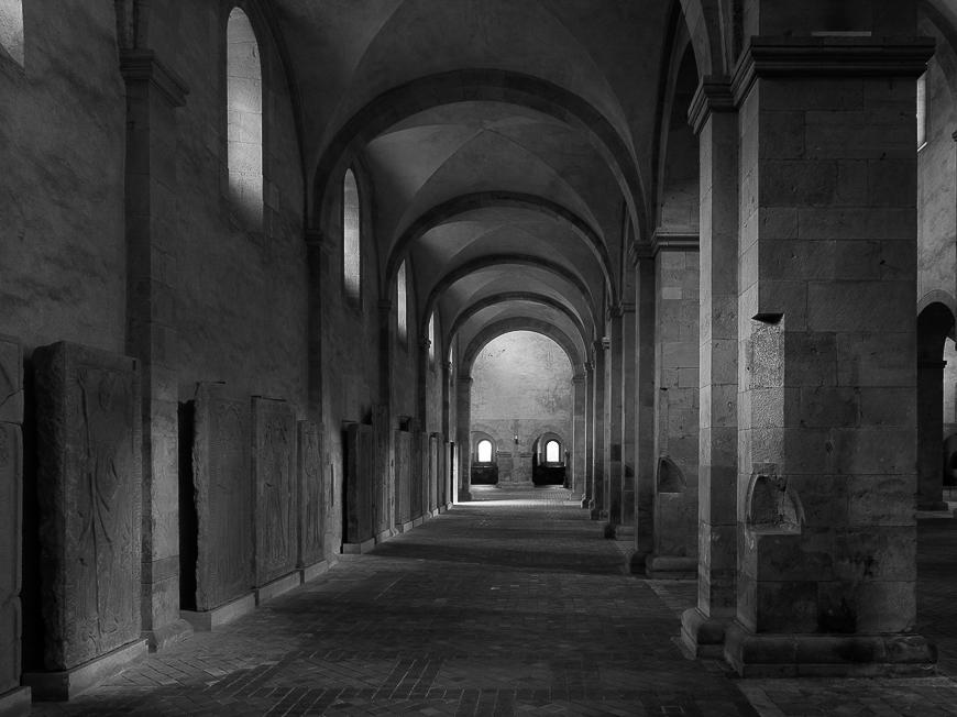 Abtei Eberbach linkes Seitenschiff