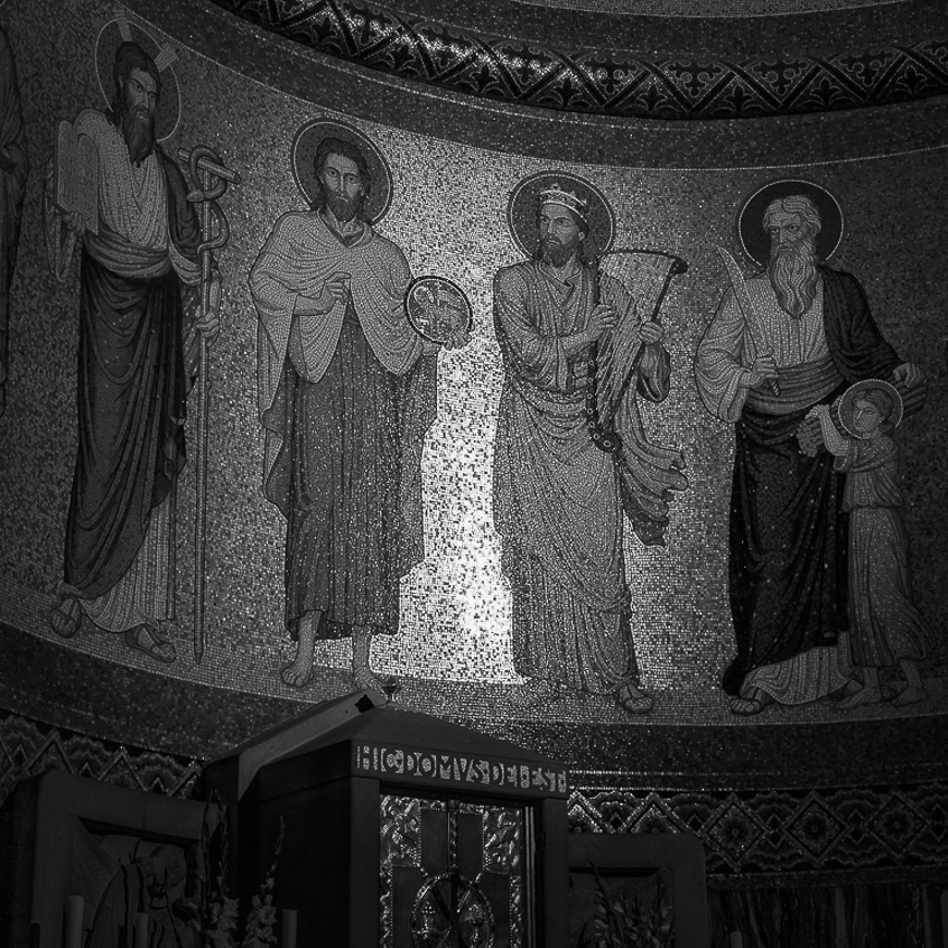 Abtei Maria Laach Detail Sakramentsaltar
