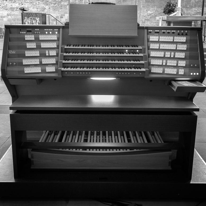 Eule Orgel Studie Konstantin Basilika Trier (2 von 15)