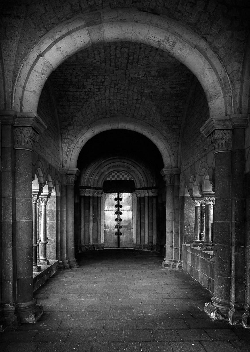 Basilika Maria Laach Eingang