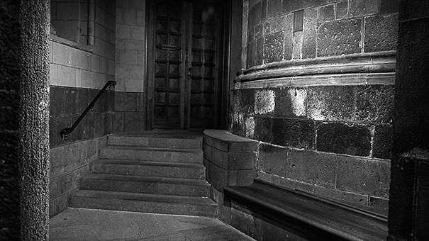 Eingang Klausur Abteikirche Maria Laach